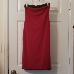 Forever 21 Sexy Red Tube Dress